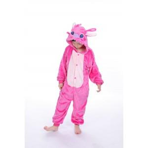 Pink Stitch animal kigurumi onesie pajamas for kids