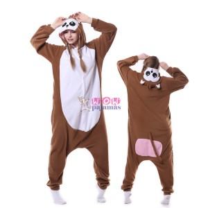 Brown Monkey Onesie Pajama Unisex Animal Onesie Pajama