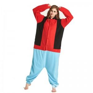 Cute Goofy long-sleeved fleece onesie pajamas for Women & Men