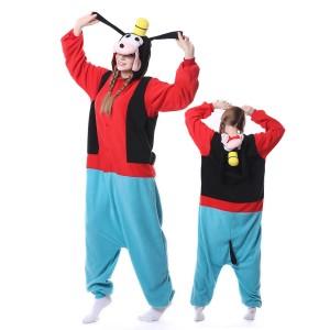 Goofy Dog Onesie Pajama Animal Onesie Pajama For Adult