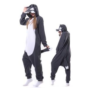 Grey Wolf Onesie Pajama Kigurumi Onesies Pajama Costumes