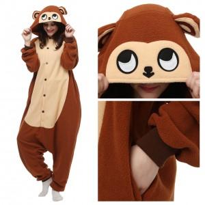 Monkey Onesie Pajama Animal Pajama For Adult