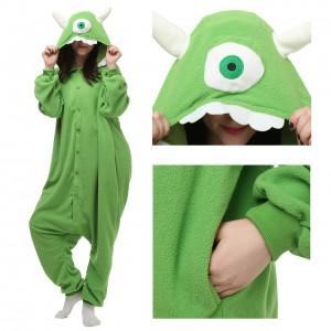 Monsters University Mike Wazowski Onesie Pajamas