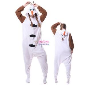 Unisex Olaf Onesie Pajama Animal Onesies Costume