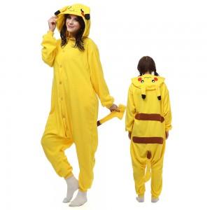 Pikachu Kigurumi Onesie Pajamas Animal Costumes For Adult