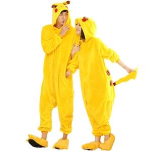 Pikachu Kigurumi Onesie Pajamas Animal Costumes For Women & Men
