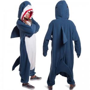 Shark Kigurumi Onesie Pajamas Adult Animal Costumes