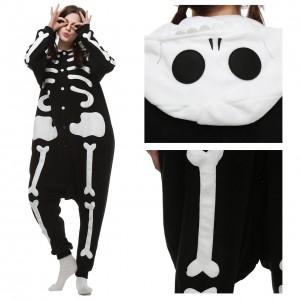 Skeleton Kigurumi Onesie Pajama for Adult