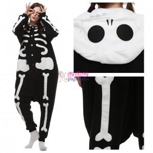 Unisex Skeleton Onesie animal pajamas for Adult