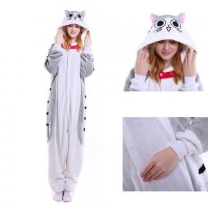 Kigurumi Sweet Chi Cat Onesie Pajamas Animal Onesies for Adult